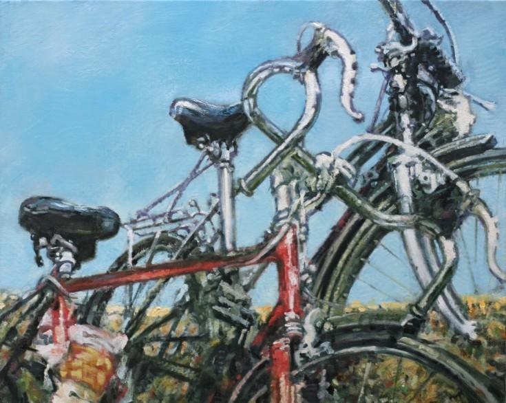 2 fietsen